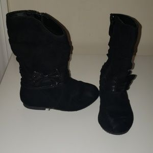 GUC Toddler Size 8 Black Boots